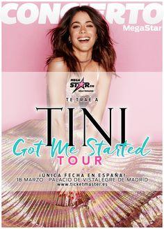 Got Me Started Tour, Violetta Live, Netflix Kids, Disney Channel Shows, Writer, Tv Shows, Singer, Pretty, Martina Stoessel
