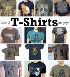 50+ Awesome Handmade T-Shirts for Men