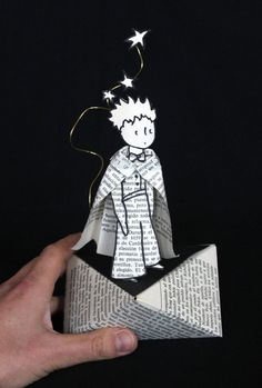 Altered book The Little Prince by MarielleJL on Etsy