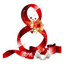 АНИМАШКИ: Надписи 8 марта 8 Martie, Happy Woman Day, 8th Of March, Ladies Day, Christmas Bulbs, Holiday Decor, Gifs, Polyvore, Jewelry