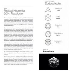 copernicusfestival's photo on Instagram Copernicus Festival / DODECAHEDRON identity