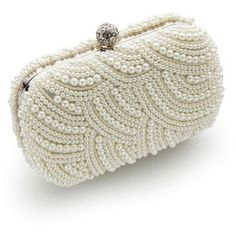 6ff1534ce Vintage Styler Art Deco Pearl Clutch Bag Diamantes, Decoracion Bodas,  Bolsos, Decoración De