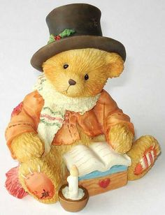 """Bear Cratchet """"And A Very Merry Christmas To You To Mr, Scrooge"""""""