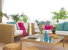 Decoración de Terrazas al Aire Libre - Para Más Información Ingresa en: http://jardinespequenos.com/decoracion-de-terrazas-al-aire-libre/