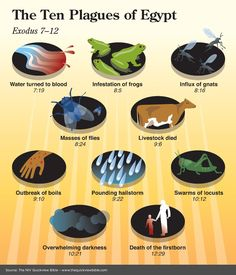 The Ten Plagues of Egypt Family Worship Night Bible Study Tools, Scripture Study, Bible Teachings, Bible Scriptures, Jw Bible, Bible Book, Jesus Bible, Bible Truth, Plagues Of Egypt