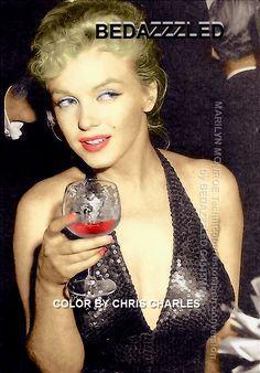 Marilyn Monroe Bedazzzled Technicolor conversion/restoration severe grain removed by Bedazzzled from b/w scan