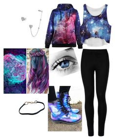 """""""Galaxies"""" by itsgracie18 ❤ liked on Polyvore featuring Bling Jewelry, Wolford and Prada"""