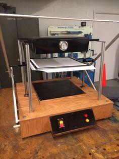 Building a Vacuum Forming Machine