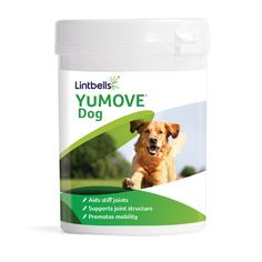 YUMOVE has been developed as one of the best dog joint aid supplements to support dog joint health; YUMOVE contains all the essential nutrients required for healthy joints in a single supplement. Daily intake can help maintain supple joints and promote better joint flexibility. YUMOVE is clinically proven to work in just 6 weeks Helps aid stiff joints Supports healthy joint structure and comfort Promotes mobility Contains naturally sourced ingredients in the purest form