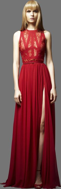 14e4c02ef2177 The Perfect Red Dresses Red Slit Dress