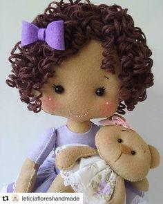 Red Nursery Doll Textile Soft Doll Handmade Baby Room Doll Love Winter Doll Poupée Cloth Rag Doll Christmas Fabric Tilda Doll by Olga K Tiny Dolls, Soft Dolls, Felt Fabric, Fabric Dolls, Felt Garland, Cat Doll, Felt Toys, Amigurumi Doll, Handmade Baby