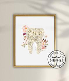 Dentist Art, Gifts For Dentist, Dental Hygienist, Dental Assistant, Dental Wallpaper, Dental Logo, Dental Office Design, Quilling Paper Craft, Office Decor