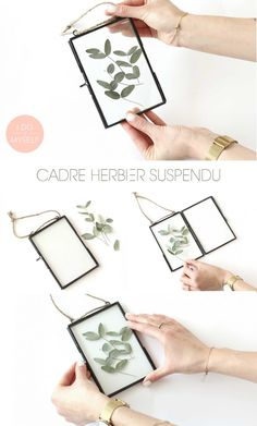 How to create it easy DIY Cadre herbier suspendu herbarium frame DIY! How to create it easy DIY Cadre herbier suspendu Maison Diy Wall Decor, Diy Home Decor, Decor Crafts, Cadre Diy, Diy Simple, Do It Yourself Inspiration, Deco Nature, Pressed Flower Art, Pinterest Diy