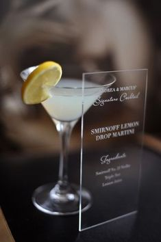 Unique Wedding Styling Idea ~ Couture Illustrated Drink Stirs/Swizzlesticks, Inspired By The 1950s...