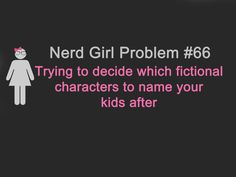 This hits hard!  Lol Sorry my children!  One day you will learn the fate of your namesakes... Adric (Who) and Auron (FFX)...