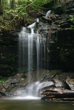 You can hike along 22 waterfalls in one day at Ricketts Glen State Park (PA)? so cool! And so close!