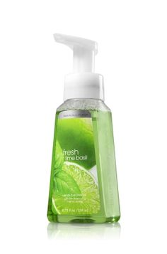 Bath & Body Works' fresh lime basil hand soap, think it's discontinued now but it smells so good.