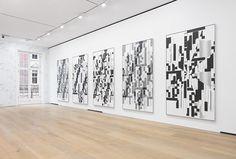 Michael Riedel » Installation view, Michael Riedel: Laws of FormDavid Zwirner