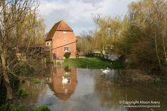 Cobham Mill, Cobham, Surrey by Beautiful England