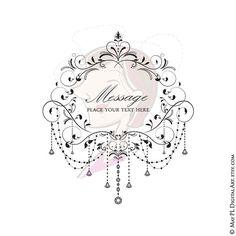 Chandelier Flourish Frame Black Vintage Swirls Elegant Crystal Chandelier…