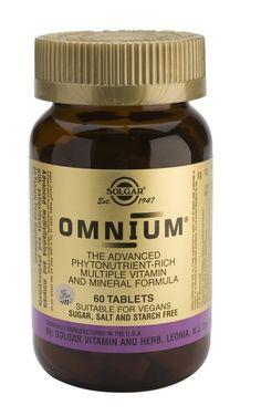 solgar omnium - advanced phytonutrient rich multiple vitamin and mineral formula Vegan Sugar, Tablets, Vitamins And Minerals, Baking Ingredients, Herbs, Nutrition, Food, Health Vitamins, Vitamin E