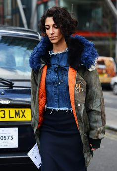 London Fashion Week, Fall/Winter 2014-2015 - Outfit Streetstyle Inspiration