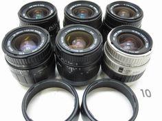 5L281GB SIGMA 28-80mm F3.5-5.6 レンズまとめて6本ジャンク_画像1