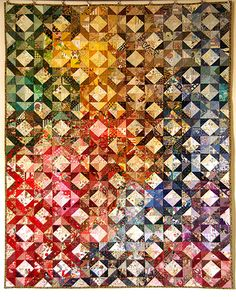 Charm Quilt or play with triangles