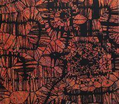 Szirtes János: Kiss, 2009, 125 x 110 cm, akril, vászon / acrylic on canvas