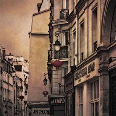 Rue du Temple, Marais, Paris by Rita Crane Photography. Tour Eiffel, Oh The Places You'll Go, Places To Visit, Rue Du Temple, Beautiful Paris, All I Ever Wanted, Paris City, Urban, Paris Travel