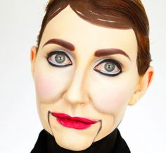 Ventriloquist Dummy Creepy Doll Makeup Tutorial | Costumes and ...