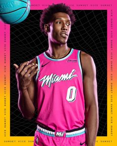 fbe79e0df Miami Heat  Vice  City Edition Unis  MiamiHeat  MiamiCulture  NBA ...