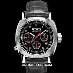 bf678583334 FER 00020 Panerai Granturismo 8 Days Chrono Monopulsante GMT - Ferrari  FER00020 Ferrari Replica