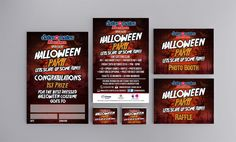 ABERDEEN HALLOWEEN PARTY 2016 – Full marketing pack for dates-n-mates Aberdeen's Halloween Party with First Prize Poster, Event Poster, ID Cards for Staff & Volunteers and also Signages for Raffle & Photo Booth.