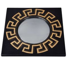 Mirror by Piero Fornasetti | From a unique collection of antique and modern wall mirrors at http://www.1stdibs.com/furniture/mirrors/wall-mirrors/