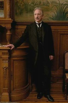 Alan Rickman (also, nice suit!)