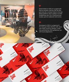 Nike We Run Lima 10K 2011 on Behance