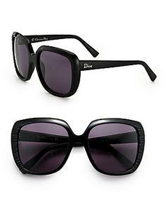 1a6fd729d4 Dior - Taffetas Square Oversized Sunglasses