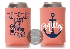 Last Sail before the Veil Can Koozie SET OF 10  by FreedomLoves603, $36.00