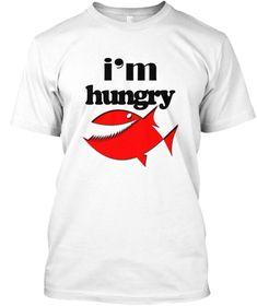 Hungry White Kaos Front