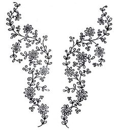 Hand Embroidery Designs | More free hand embroidery patterns