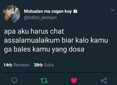 Quotes Lucu, Cinta Quotes, Jokes Quotes, Funny Quotes, Tweet Quotes, Mood Quotes, Life Quotes, Funny Tweets Twitter, Twitter Quotes