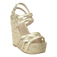 Summer gold wedges