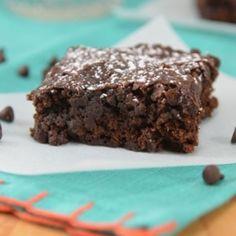 Double Chocolate Vegan Brownies - probably the best vegan brownies I've made