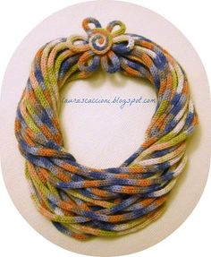 _ _ _ _ Провода Фэнтези: ожерелье tricottino