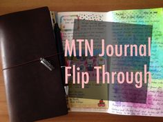Here is a video of my journal flip through. I hope you enjoy the flip and gain some ideas on how you could decorate/journal in your traveler's notebook as well :) Thanks so much for watching!