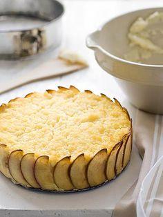 rijstebrij taart appel kom