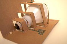 Environmentally Friendly Light Bulb Packaging by Esther Li, via Behance