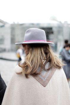 Ranch Dressing: Wide-Brimmed Fedoras for Fall/ Winter  {http://celesteandpearl.blogspot.com/2013/11/ranch-dressing-wide-brimmed-fedoras.html}
