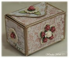Wenches Cards & Paper: Bowl-box No.. 2 - 3ndypapir !!